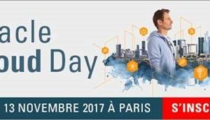 Oracle Cloud Day | 13/11/2017 | Maison de la Chimie | Paris