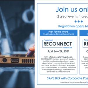 PeopleSoft | RECONNECT ENVISION